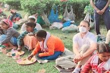 Rahul Gandhi in Assam : মাটিত বহি চাবুৱাত চাহ শ্ৰমিকৰ সৈতে আহাৰ গ্ৰহণ কৰিলে কংগ্ৰেছৰ যুৱৰাজ ৰাহুল গান্ধীয়ে