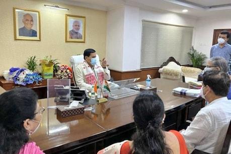 Sarbananda Sonowal: নতুন দিল্লীত নিজ দপ্তৰৰ দায়িত্ব গ্ৰহণ প্ৰাক্তন মুখ্যমন্ত্ৰী সৰ্বানন্দ সোণোৱালৰ