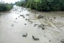 Landslide in Manipur : মণিপুৰৰ টুইলাং এলেকাত ভূমিস্খলন, বন্ধ ইম্ফল–তামেংলং পথ