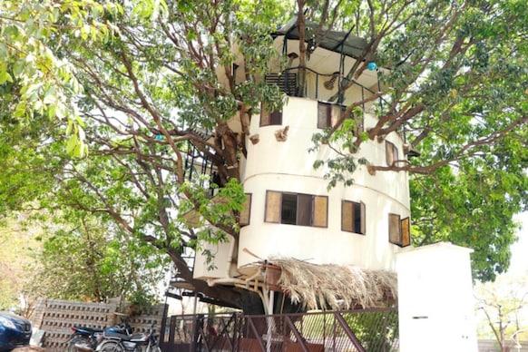 ৪০ ফুট ওখ আমগছত ৪ মহলীয়া হাইটেক ঘৰ, বিৰল আৰ্হি ৰাজস্থানত