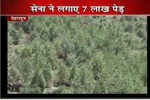 बद्रीनाथ की पहाड़ियों में सेना ने भर दिया हरा रंग!