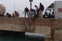 नहर में गिरी कार, दो लोगों की मौत