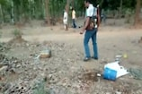 VIDEO: Police destroyed hundreds of liters of illegal country liquor