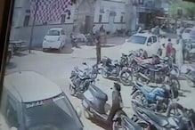 VIDEO: The thief caught in a CCTV camera during stoling the bike
