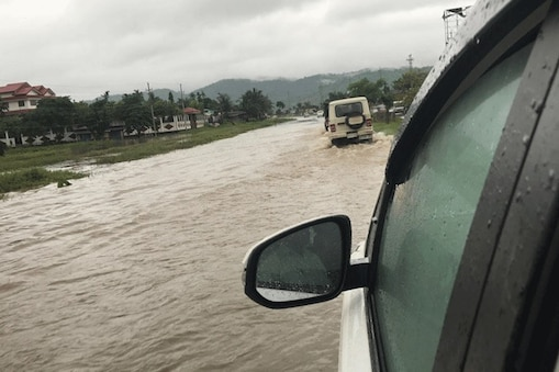 flood in north east states