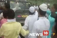 Video : अमरोहा में देरी से नाराज भीड़ ने पुलिस पर किया पथराव