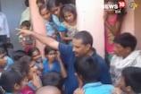 बच्चों के खाने में निकला कीड़ा, गुस्साए अभिभावकों ने स्कूल पर जड़ा ताला