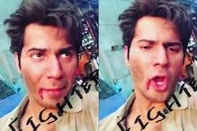 VIDEO: ये क्या हो गया वरुण धवन को, ऐसा क्यों हो गया है उनका चेहरा
