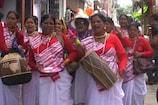 VIDEO : अल्मोड़ा में उतरे उत्तराखंड की संस्कृति के रंग