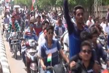 VIDEO : भारत माता के नारों से गूंजा चूरू