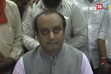 VIDEO : कांग्रेस में विघटन के लिए मोदी-शाह जिम्मेदार नहीं : त्रिवेदी