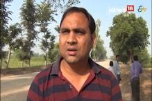 मौरंग माफियाओं की ओवरलोड ट्रक ने एसडीएम की गाड़ी में टक्कर मारी