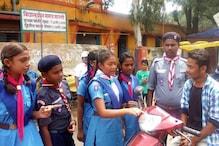 मनेंद्रगढ़ में स्काउट-गाइड के बच्चों ने संभाली यातायात व्यवस्था