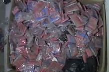VIDEO : आधी रात पड़ गया यहां छापा, 30 कार्टन में मिले छोटे-बड़े बम