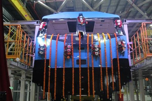 सबसे पावरफुल इलेक्ट्रिक रेल इंजन का निर्माण कार्य शुरू.