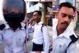 VIDEO: बीच सड़क सिपाही को रिश्वत लेने पर दौड़ाया, वीडियो हो रहा वायरल