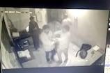 VIDEO: विधायक के पति ने की टोल नाके पर मारपीट