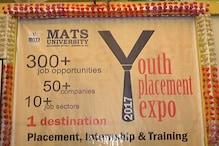 अच्छी खबर: जॉब के लिए मैट्स यूनिवर्सिटी में यूथ प्लेसमेंट एक्सपो का आयोजन