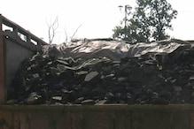 25 टन अवैध कोयला से लदा अज्ञात ट्रक जब्त, जांच में जुटी पुलिस