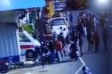 VIDEO: टोल कर्मियों से मारपीट की घटना सीसीटीवी में कैद