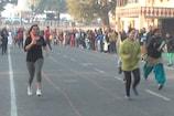 कोटा में गणतंत्र दिवस पर किया गया दौड़ का आयोजन