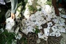 VIDEO : मुजफ्फरपुर में लावारिस फेंके मिले वोटर आईडी कार्ड