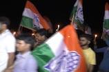 VIDEO: बलात्कार की घटनाओं के विरोध में कांग्रेसियों का कैंडल मार्च