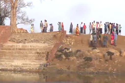 इस गांव के ग्रामीणों ने चंदा इकट्ठा कर किया निर्मल घाट का निर्माण