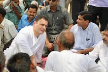 अमेठी में राहुल: कहीं जमीन पर लगाई चौपाल तो कहीं कंधे पर हाथ रख बांटा दर्द