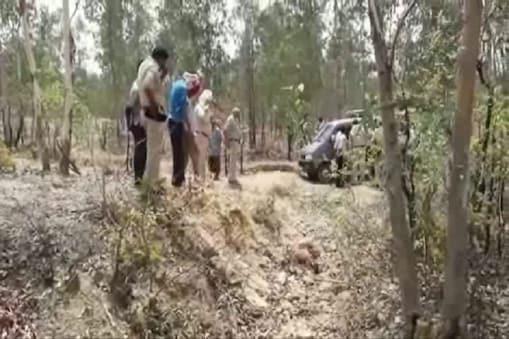 जंगल में शव की सूचना पर पहुंची पुलिस