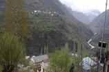 लाहौल घाटी में मौसम का मिजाज बदला