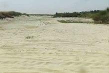 VIDEO:यमुना नदी का अस्तित्व खतरे में, कई जगह पूरी तरह सूखी