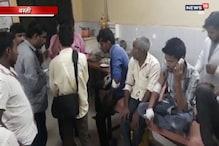 VIDEO : बस्ती में ट्रैक्टर पलटने से 3 मजदूर की मौत,6 लोग घायल