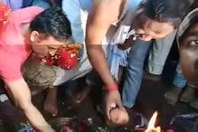 VIDEO: देवड़ी मंदिर में एमएस धोनी ने की पूजा अर्चना