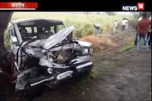 खरगोन: सड़क हादसे में पति-पत्नी सहित तीन की मौत