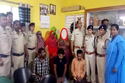 वेश्यावृत्ति के आरोप में पकड़े गए महिला व पुरुष