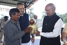 बस्तर पहुंचे राष्ट्रपति रामनाथ कोविंद ने कहा 'छत्तीसगढ़िया सबले बढ़िया'