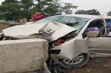 VIDEO: सड़क हादसे में 2 की मौत और 5 गंभीर रूप से घायल