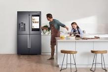 कमाल का है ये फ्रिज, खाना बनाते-बनाते इसमें ही देख सकते हैं टीवी