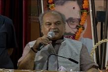 केंद्रीय मंत्री नरेन्द्र सिंह तोमर ने कांग्रेस के कार्य और गुटबाजी पर कसा तंज