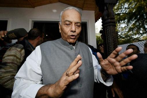 File photo of Yashwant Sinha.(PTI)