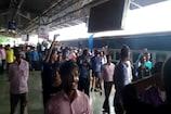 VIDEO : गंजबासौदा स्टेशन पर 3 घंटे कटा हंगामा, बुलानी पड़ी लोकल पुलिस