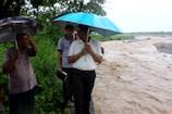 VIDEO: बारिश से कोटद्वार में सुखरौ नदी उफ़ान पर, भूमि कटान से आबादी पर ख़तरा