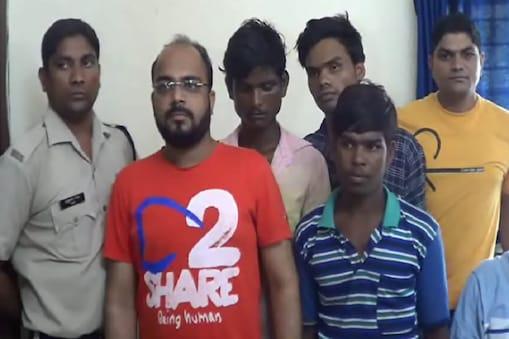 जांजगीर में चोरी करने वाले आरोपी गिरफ्तार