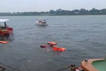 महेश्वर में नाविकों ने नर्मदा नदी में डूबने से दो को बचाया