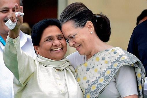मायावती और सोनिया गांधी (File Photo)