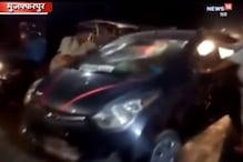 VIDEO: कार दुर्घटना में बुजुर्ग की मौत, आक्रोशित भीड़ ने लगाया जाम