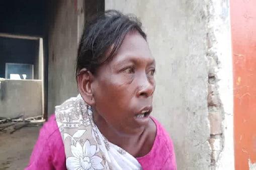 विलुप्त हो रही बिरहोर जनजाति की एक महिला