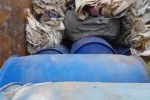 पिकअप वेन से 1000 लीटर अवैध स्प्रिट बरामद, एक गिरफ्तार