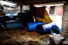 VIDEO:अवैध शराब भट्टियां ध्वस्त, 21 हजार किलो जावा महुआ बरामद